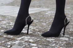 Falda-pantalón OhMyLooks, zapatos Zara negros 12