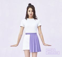 Awww TWICE members are looking sweet and lovely in shades of lavender and purple in individual teaser images!They look girly and sweet with cute, fun …