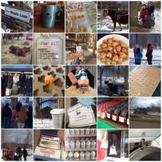 Family activities at the maple syrup festival