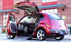 This is the coolest accessible vehicle we have ever seen!
