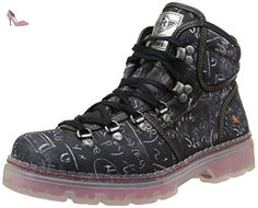 Art Alpine 20ème 801, Boots homme - Noir (Moka), 42 EU - Chaussures art (*Partner-Link)