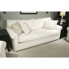 Klaussner Home Furnishings | Solo Natural Sofa - Bernie And Phyls...$699 for TV room
