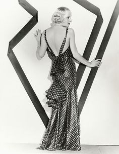 Carole Lombard, No One Man, 1932 Travis Banton; Hollywood Costume, Hollywood Fashion, Old Hollywood Glamour, Golden Age Of Hollywood, Vintage Hollywood, Classic Hollywood, Hollywood Actresses, Carole Lombard, Mae West