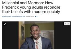 Maryland newspaper features LDS young adults in discussion about faith and  society | Meridian Magazine - LDSmag.com | A Maryland newspaper recently ...