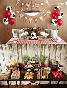 Western Horse Party Inspiration Board by Bella Bella Studios! Fun ideas found via the net ! Rodeo Party, Cowboy Theme Party, Cowboy Birthday Party, Boy Birthday Parties, Cowboy Party Decorations, Petting Zoo Birthday Party, Birthday Ideas, Horse Party, Cow Birthday