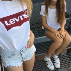#levis #adidas superstar #friends #best friend goals