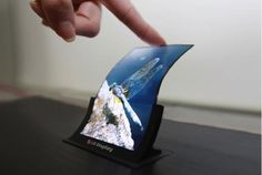 Les écrans OLED flexibles seront là à Noël