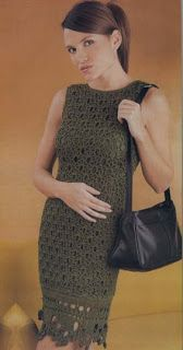 Croche and Other Fricotes: Green Military Dress in Croche