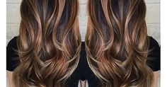 Image result for balayage brunette hair