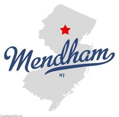 Image result for mendham new jersey map