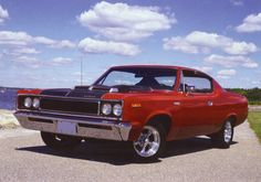 colorful pictures of muscle cars | 1970 AMC Rebel '' The Machine '', 1970, Muscle Car, Rebel
