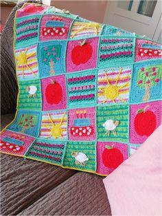 Love Crochet, Crochet For Kids, Diy Crochet, Crochet Baby, Crochet Afghans, Manta Crochet, Crochet World, Afghan Blanket, String Art