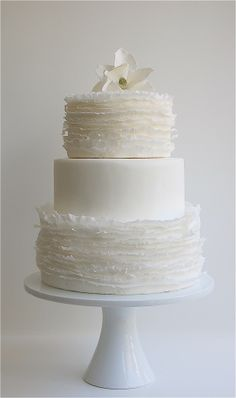 for the record, i'm not planning a wedding, i just love beautiful baked goods!