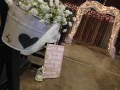 Heart Arch for a backdrop or ceremony Entrance.