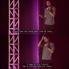 Bo Burnham in his comedy special Make Happy out on Netflix