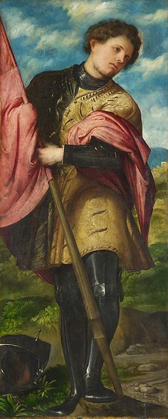 Saint Alexander, by Girolamo Romanino (Italian, c. 1484/7-1560/66)