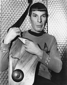 Star Trek: Leonard Nimoy as Mr. Spock