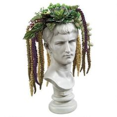 Bust Planters of Antiquity Statues: Emperor Caligula Was: $59.95           Now: $39.95