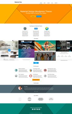 Web Design Storage - WordPress Theme