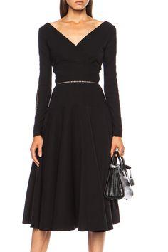 Black Backless Openwork Long Sleeve Dress BLACK: Dresses 2015   ZAFUL