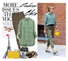 Olivia Palermo by gabriela2105 on Polyvore featuring moda, Etro, rag & bone, Nearly Natural and WALL