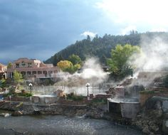 "TripAdvisor - Traveler photo by James H: ""Steaming hot springs!"" (Nov 2013)"