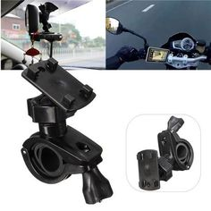 Phone GPS Handlebar Mount Holder Base Support Universal 360 Degree Motorcycle Bike. Phone Gps Handlebar Mount Holder Base Support Universal 360 Degree Motorcycle Bike    description:    100% Brand New And High Quality.  you May Bring Your Phone With Your Biking Trip And Access It Easily Without Worrying About Getting It Damaged Or Dropped.  mount It On Your Bikehandlebar And Rearview Mirror Shelves Of Your Car, Will Convenient You To Check Time/map/callings/messages  install On Bike,bicycle…