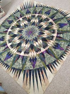 Amazon Star, Quiltworx.com, Made by Penny Kistner.