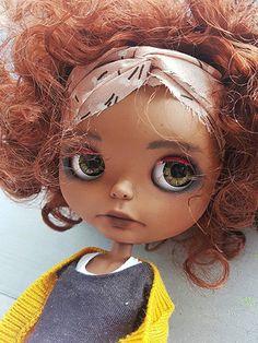 ooak blythe Imani  takara custom doll by Pomipomari by Pomipomari