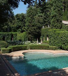 Valentino Garavani and Giancarlo Giammetti's Tuscan Estate in Cetona, Italy.