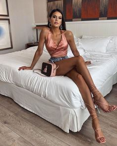 """Luxury life on Instagram: """"🤍🤍 @the.vesna"""" Beautiful Legs, Beautiful Women, Amazing Legs, Lux Fashion, We Wear, How To Wear, How To Pose, Bvlgari Bags, Nice Legs"""