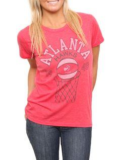 NBA 1949 Atlanta Hawks Vintage Inspired Heather Tee  $14.00  www.junkfoodclothing.com