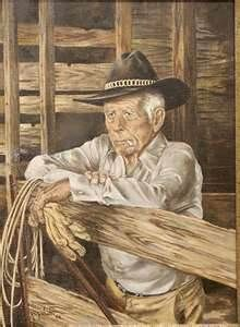 Western art  From My Heroes Have Always Been Cowboys Board