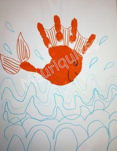 Mauriquices: Peixinho vermelho