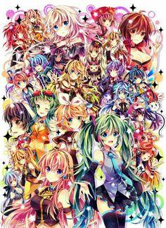 A lot of Vocaloid !