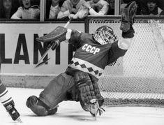 Is Vladislav Tretiak the best hockey goaltender of all time? Rangers Hockey, Hockey Goalie, Hockey Teams, Hockey Players, Nhl, Hockey Highlights, Jersey Uniform, Hockey Boards, Hockey Pictures
