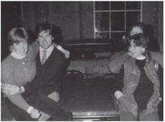 Lady Diana with friends