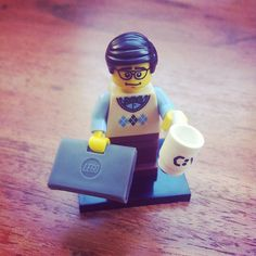 #LEGO Programmer (mainly because this is what my mother looked like in the eighties.)