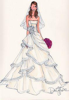 65 Best Wedding Dress Drawings Images Dress Drawing Dress