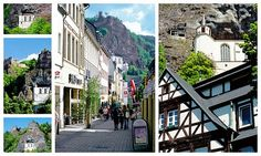 Idar-Oberstein, Germany Kell Am See, The Rock, Beautiful Images, Past, Tourism, Germany, Street View, Vacation, Places