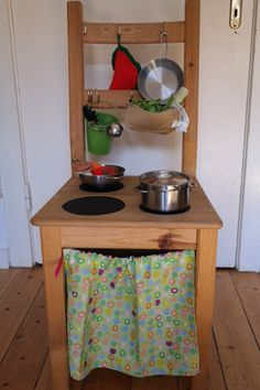 Kinderküche - als alt mach neu