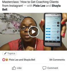 JUST WRAPPED UP a LIVE 'Instagram Masterclass' on how to find coaching clients on Instagram! . Comment below or DM for #replay details💕 . I do what I love, and I LOVE what I do 👑  #marketing #wordsmith #authorsofinstagram #selfpublishing #bestseller #author #speakerlife #WomenInBusiness #Coaching #GirlBoss #TheBossOfMe #BossBabe #FemaleEntrepreneur #BlackGirlMagic #SmallBiz #Startup #BeYourOwnBoss #WomenPower #WomenWhoHustle #WomenInLeadership #WomenEmpowerment #AndriekaAustin