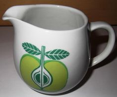 arabia pomona Tutti Frutti, Finland, Mugs, Tableware, Dinnerware, Tumblers, Tablewares, Mug, Dishes