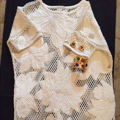 Isabel marant etoile Isabel marant etoile macrame tunic dress , made in India. Absolutely beautiful Isabel Marant Dresses Midi