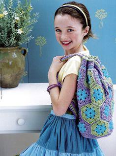 Cute Crocheted Bags at MaggiesCrochet.com
