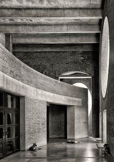 Indian Institute of Management in Ahmedabad, India. Louis Kahn. 1962-74.