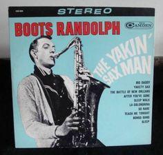 Boots Randolph The Yakin' Sax Man Lp Near Mint