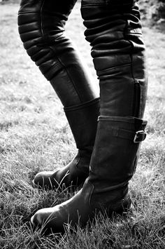 Like these pants and boots.