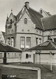 Ministry of Works photographs of Sunnyside Hospital, Christchurch New Zealand, Lincoln Road, Victorian Gothic, Homeland, Past, Mansions, History, House Styles, Building
