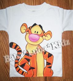 Handpainted Hand painted Custom Boutique Disney  by Babalubakidz, $29.99